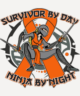 Multiple Sclerosis Survivor By Day Ninja By Night T Shirt
