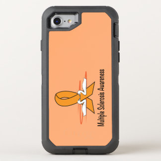 Multiple Sclerosis Swans of Hope OtterBox Defender iPhone 7 Case