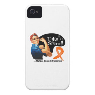 Multiple Sclerosis Take a Stand iPhone 4 Cover