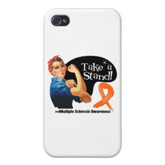 Multiple Sclerosis Take a Stand iPhone 4 Cases