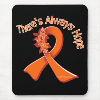 Multiple Sclerosis There s Always Hope Floral Mousepads