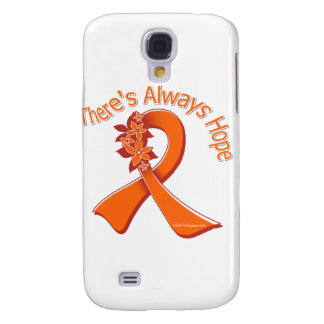 Multiple Sclerosis There's Always Hope Floral Galaxy S4 Covers