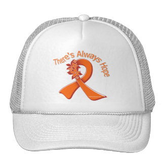 Multiple Sclerosis There's Always Hope Floral Hat