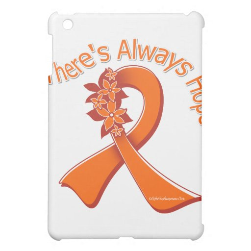 Multiple Sclerosis There's Always Hope Floral Case For The iPad Mini