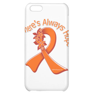 Multiple Sclerosis There's Always Hope Floral Cover For iPhone 5C