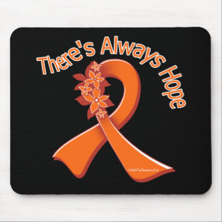 Multiple Sclerosis There's Always Hope Floral Mouse Pad