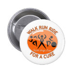 Multiple Sclerosis Walk Run Ride For A Cure Badge