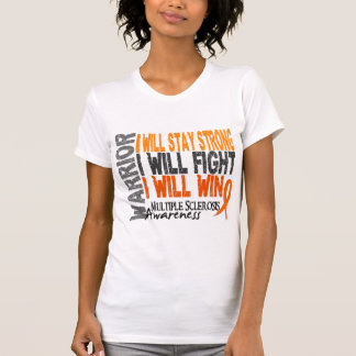 Multiple Sclerosis Warrior Tank Tops