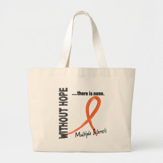 Multiple Sclerosis Without Hope 1 Canvas Bags