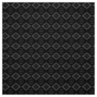 Multiple Shades of Grey Diamonds Pattern Fabric
