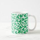 Multiple Shamrocks Coffee Mug