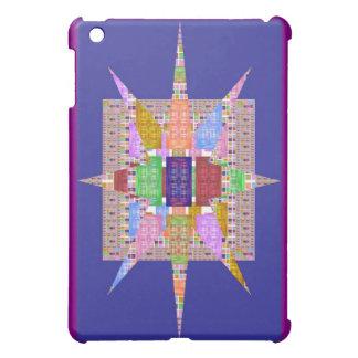 Multiple Silk Squares iPad Mini Covers