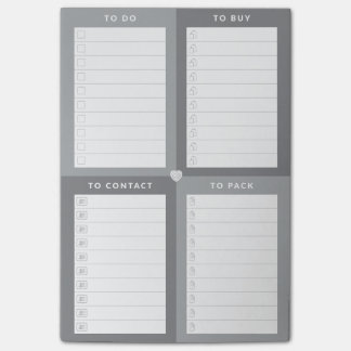 Multiple ToDo's Post-It® Notes