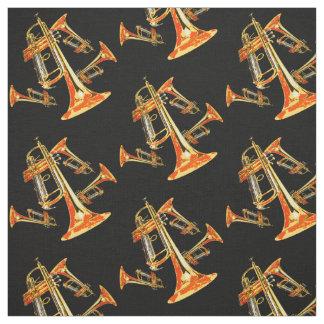 Multiple Trumpets Fabric