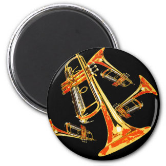 Multiple Trumpets Magnet