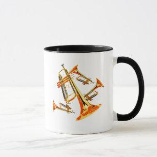 Multiple Trumpets Mug