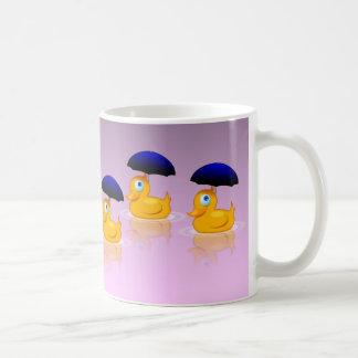 Multiple Umbrella Ducks Coffee Mug