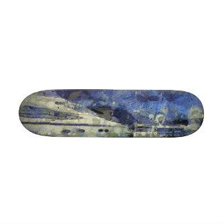 Multiple yachts 19.7 cm skateboard deck