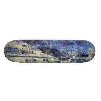 Multiple yachts skate deck