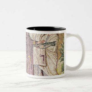 Multiplication of the Bread and Fishes Two-Tone Coffee Mug