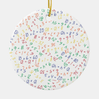 Multiplying Multiples Christmas Ornament