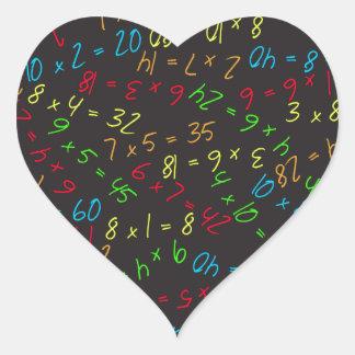 Multiplying Multiples Heart Stickers