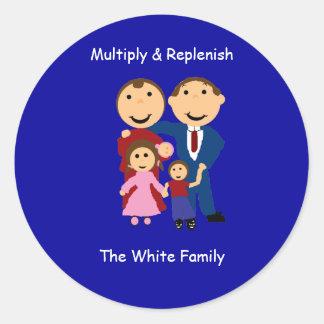 multiplyreplenishwhitefamily Multiply Replen Stickers