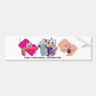 MULTIPONTO teleconferencia multipoint professor Bumper Sticker