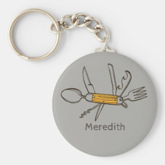 Multipurpose Tool Personalised Keychain