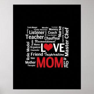 Multitasking Mom - Mother's Day or Mom's Birthday Print