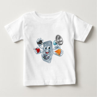 Multitasking phone concept baby T-Shirt