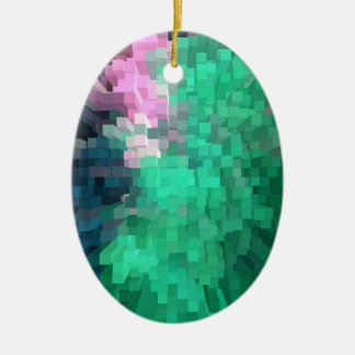 Multitude of colour christmas ornament