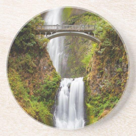 Multnomah Falls Along The Columbia River Gorge 2