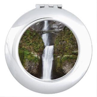 Multnomah Falls in the Columbia Gorge Makeup Mirrors