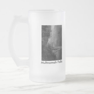Multnomah Falls, Multnomah Falls, Multnomah Fal... Frosted Glass Beer Mug