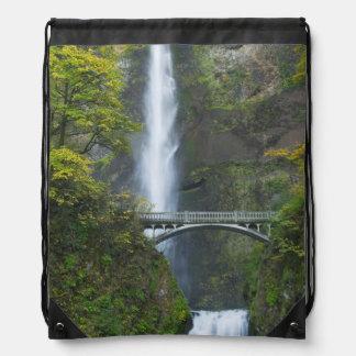 Multnomah Falls, Oregon Drawstring Bag