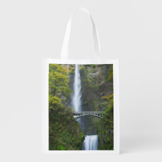 Multnomah Falls, Oregon Reusable Grocery Bag