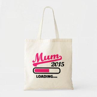 Mum 2015 budget tote bag