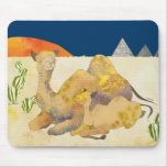 Mum and Baby Camel in Egypt Mousepad