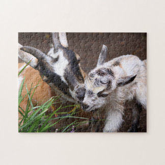 Mum and Baby Goat Jigsaw Puzzles