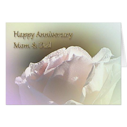 Mum and Dad Wedding Anniversary Greeting Card