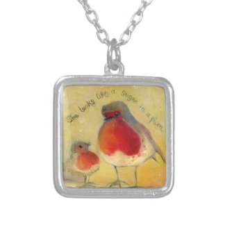 Mum and Me 2012 Silver Plated Necklace