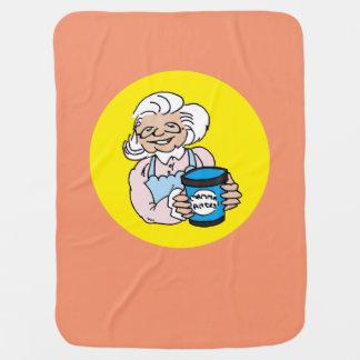 Mum Antes felt Baby Blanket