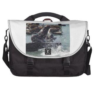 Mum & baby Sea Lion Laptop Bags