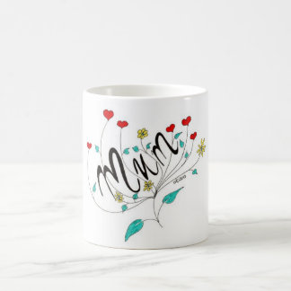 Mum Basic White Mug
