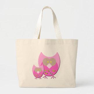 Mum & Bub owl Jumbo Tote Bag