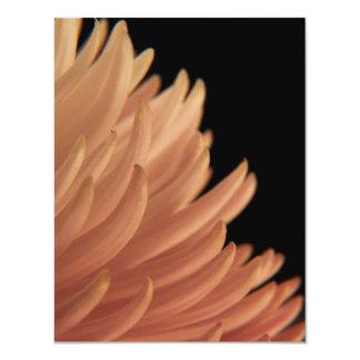 Mum Chrysanthemum Pink Flower 11 Cm X 14 Cm Invitation Card