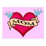 Mum - Custom Heart Tattoo T-shirts & Gifts