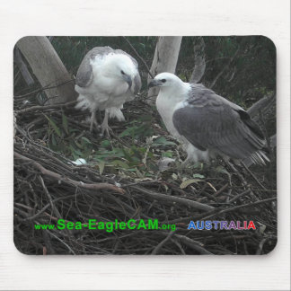 Mum & Dad admiring the Eggs Mousepad Horizontal 02