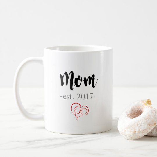 Mum Est. 2017 Coffee Mug - New Mother